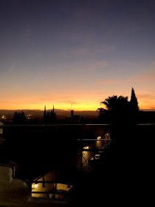 Sunset from the Albaicyn