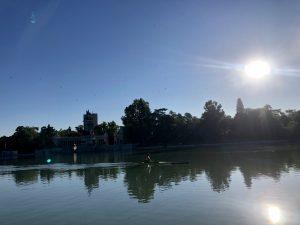 Boating Lake in the El Retiro Park Madrid