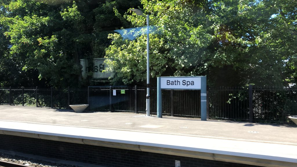 BathSpa Train Station