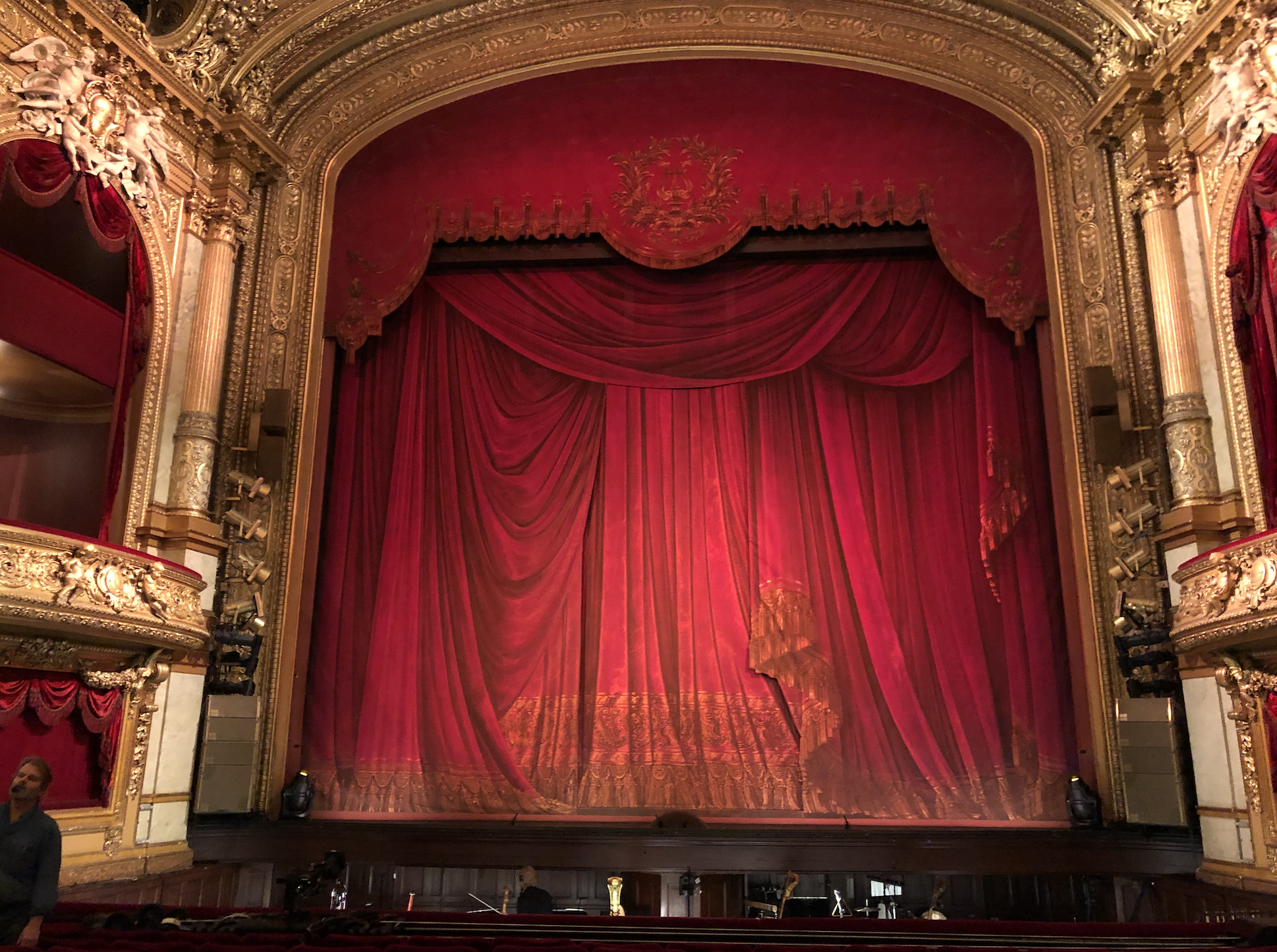 The stage at Kungliga Opera House Stockholm